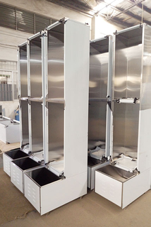 China Manufactured High Quality Sheet Metal Fabrication Stainless Steel Storage Cabinet