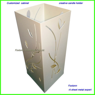 1.2mm Sheet Metal CNC Cutting Romantic Candle Holder