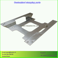 Steel Fabrication Laser Cutting Parts Stainless Sheet Metal Stamping