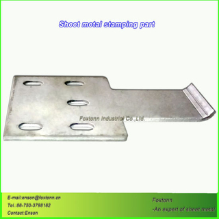Custom Sheet Metal Stamping Part by CNC Machining
