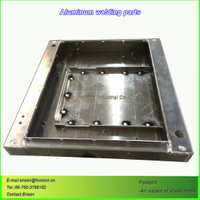 Sheet Metal Welding Bending Anodized Aluminum Parts
