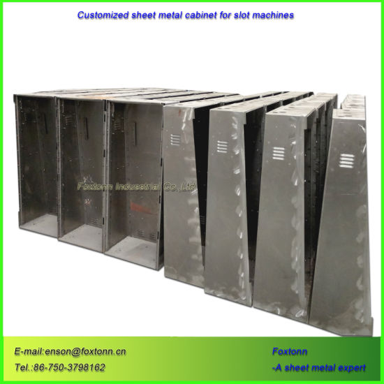 Customized Slot Cabinet Sheet Metal Welding Stamping Parts