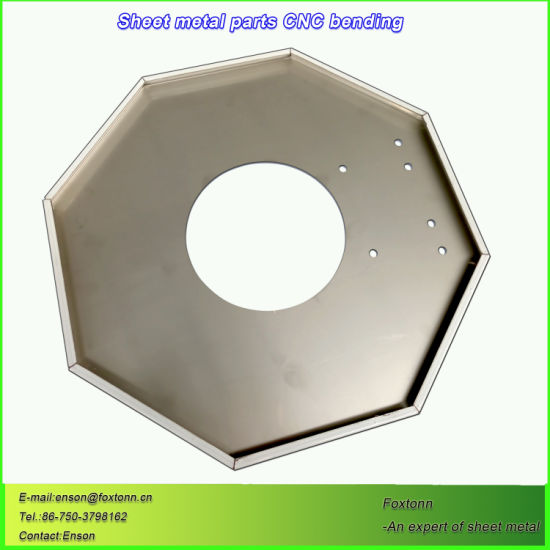 CNC Bending Stainless Steel Fabrication Punching Parts