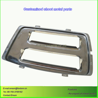 Sheet Metal Punching Stainless Steel Fabrication Drawing Parts