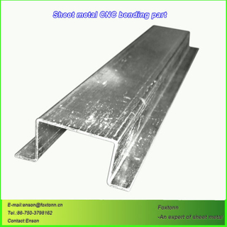 Sheet Metal Fabrication CNC Bending Parts by Laser Cutting