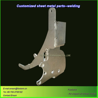 Sheet Metal Welding Laser Cutting Aluminum Machining Parts
