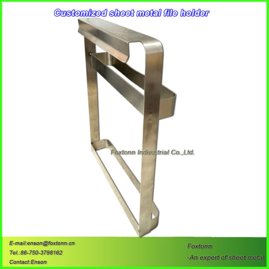 Sheet Metal Parts Stainless Steel Welding File Holder