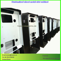 Custom Sheet Metal Slot Cabinet for Amusement Equipment Housing china Manufacturer
