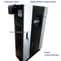 Sheet Metal Fabrication Custom Cabinet for Car Charging Station