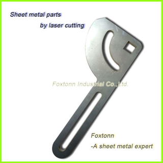 Customized Stainless Steel Sheet Metal Fabrication Laser Cutting Parts