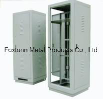 Custom Manufactured Sheet Metal Fabrication Electric Server Cabinet