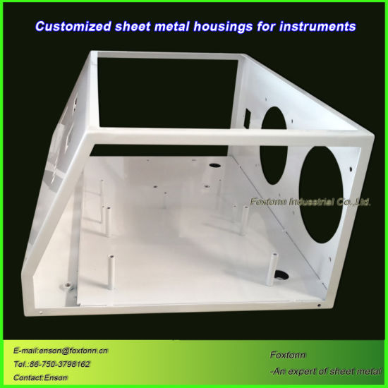 CNC Punching Fabrication Sheet Metal Enclosure