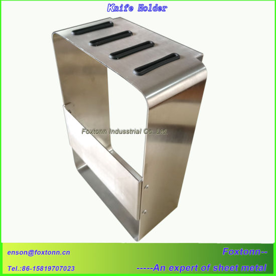 Stainless Steel Kitchen Knife Holder Sheet Metal Fabrication