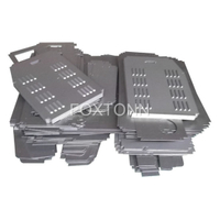 OEM Sheet Metal Fabrication of CNC Punching Metal Parts