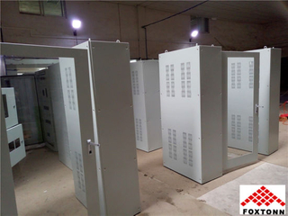 OEM Large Electric Cabinet with Powder Coating