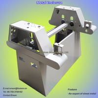 China Fabrication Sheet Metal Enclosure Machinery Housings