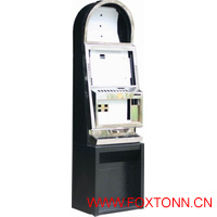 Coion Operated Machine Custom Single Screen Casino Cabinet
