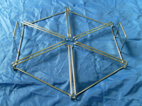OEM Stainless Steel Metal Fabrication Display Wire Rack