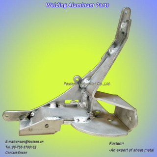 Sheet Metal Fabrication CNC Machining Welding Aluminum Parts