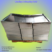 Galvanized Sheet Metal Bending and Stamping Parts