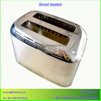 Kitchen Appliance Stainless Steel Enclosure Bread Toaster