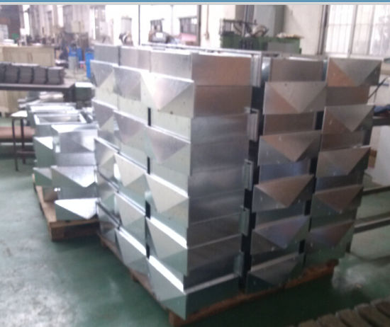 OEM Galvanized Steel Parcel Box with Powder Coating